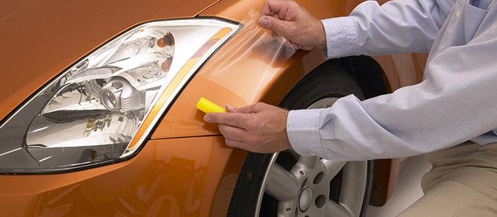 Как клеить пленку на авто своими руками 6